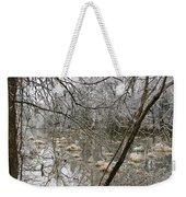 Ice Pond Weekender Tote Bag