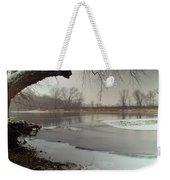Ice River Weekender Tote Bag