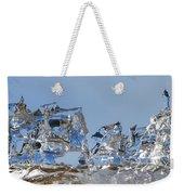 Ice Ships Weekender Tote Bag