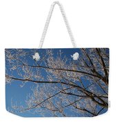 Ice Storm Branches Weekender Tote Bag