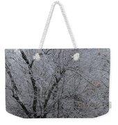 Ice Storm Weekender Tote Bag