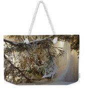 Ice Wall Weekender Tote Bag
