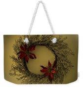 Ice Wreath Weekender Tote Bag