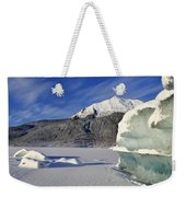 Iceberg And Mount Mcginnis Weekender Tote Bag