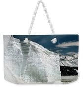 Iceberg At Cape Hallett Antarctica Weekender Tote Bag