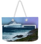 Iceberg Escape Weekender Tote Bag by Barbara Griffin
