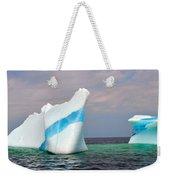 Iceberg Off The Coast Of Newfoundland Weekender Tote Bag