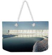 Iceberg Ross Sea Antarctica Weekender Tote Bag