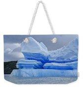 Iceberg Sculpture Weekender Tote Bag