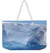 Iceberg With Cape Petrel Weekender Tote Bag