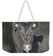 Iced Beef Weekender Tote Bag by Bonfire Photography