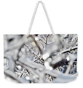Iced Branches Weekender Tote Bag