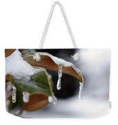 Iced Magnolia Weekender Tote Bag