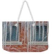 Iced Over Weekender Tote Bag