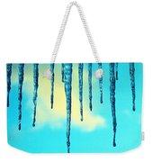 Iced Sky Weekender Tote Bag