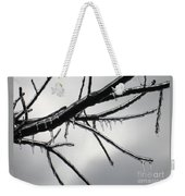 Iced Tree Weekender Tote Bag