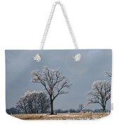 Iced Tree Weekender Tote Bag