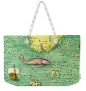 Iceland, From An Atlas Of The World In 33 Maps, Venice, 1st September 1553 Weekender Tote Bag