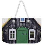 Icelandic Old House Weekender Tote Bag