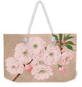 Ichi-yo - Single Leaf - Vintage Japan Watercolor Weekender Tote Bag