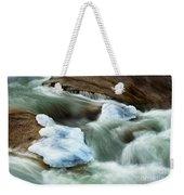 Icicle Creek Weekender Tote Bag