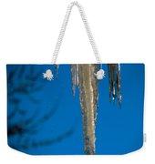 Icicles 1 Weekender Tote Bag