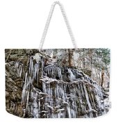 Icicles On Forbidden Drive Weekender Tote Bag