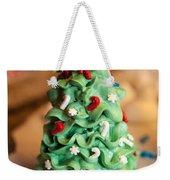 Icing Christmas Tree Weekender Tote Bag
