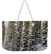 Icing On The Trees Weekender Tote Bag