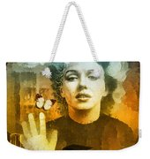 Icon Weekender Tote Bag by Mo T