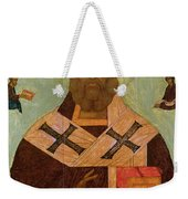 Icon Of St. Nicholas Weekender Tote Bag