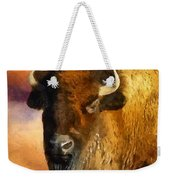 Icon Of The Plains Weekender Tote Bag