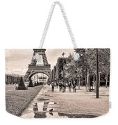 Icon Reflected Sepia Weekender Tote Bag