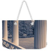 Iconic Columns On An Estate Weekender Tote Bag