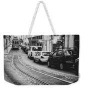 Iconic Lisbon Streetcar No. 28 V Weekender Tote Bag