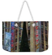 Iconic Radio City Weekender Tote Bag