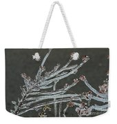 Icy Branch-7474 Weekender Tote Bag