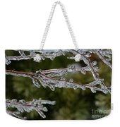 Icy Branch-7482 Weekender Tote Bag