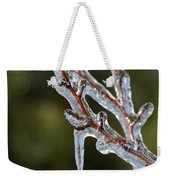Icy Branch-7498 Weekender Tote Bag