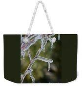 Icy Branch-7506 Weekender Tote Bag