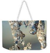 Icy Closeup Weekender Tote Bag