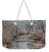 Icy Creek Weekender Tote Bag