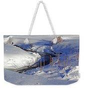 Icy Flow Weekender Tote Bag