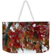 Icy Oak Weekender Tote Bag