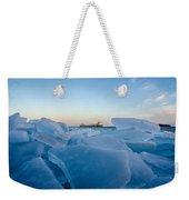 Icy Passage Weekender Tote Bag