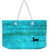 Icy Swim Weekender Tote Bag
