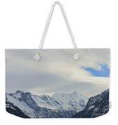 Icy View Weekender Tote Bag