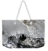 Icy Water Weekender Tote Bag