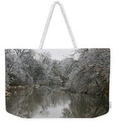 Icy Wonderland Weekender Tote Bag