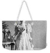 Ida Saxton Mckinley (1847-1907) Weekender Tote Bag